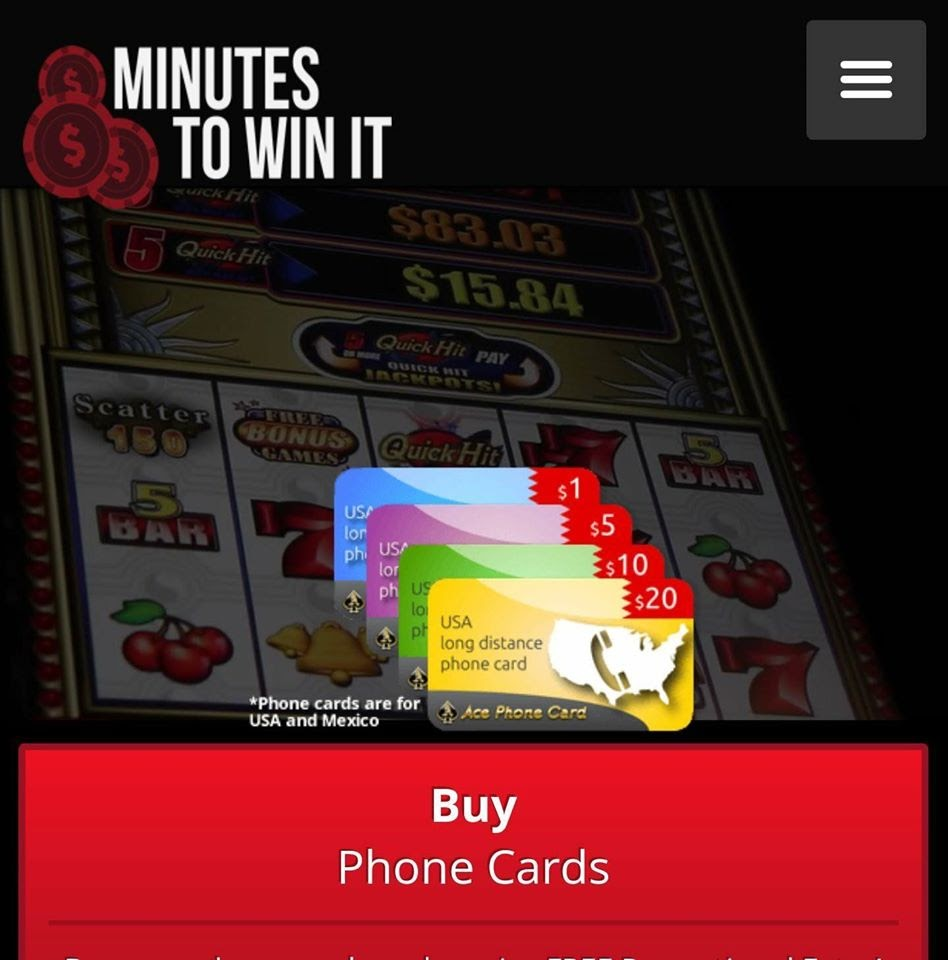 Online Sweepstakes Gaming Georgia   Minutes to Win It